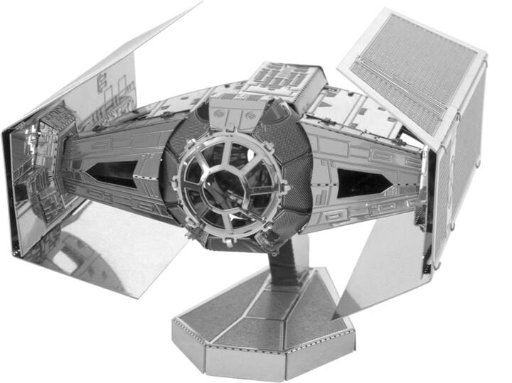 Stavebnice Metal Earth Star Wars - TIE Fighter Advanced X1, kovová
