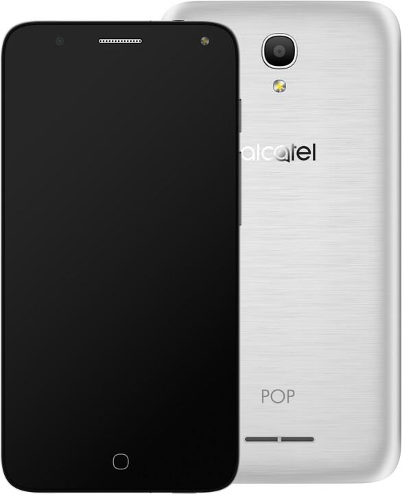 ALCATEL OT-5051D POP 4, stříbrná