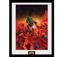 Zarámovaný plakát Doom