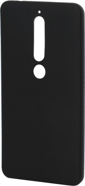 EPICO Pružný plastový kryt pro Nokia 6.1 SILK MATT - černý