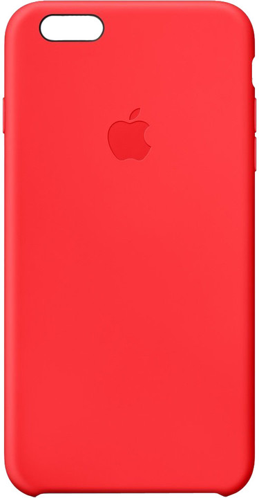 Apple Silicone Case pro iPhone 6 Plus, červená