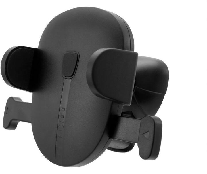 FIXED Click Vent univerzální držák s uchycením do mřížky ventilace, černá