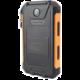 Viking solární outdoorová power banka Delta I 8000mAh, černo-oranžová  + Voucher až na 3 měsíce HBO GO jako dárek (max 1 ks na objednávku)