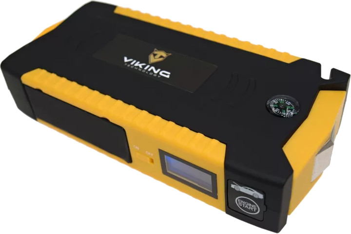 Viking Car Jump Starter Zulu 19 19000mAh PLUS + vzduchový kompresor, žlutá