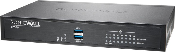 SonicWall TZ500 + 1 rok Total Secure