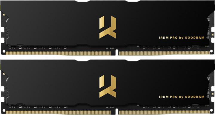 GOODRAM IRDM PRO 16GB (2x8GB) DDR4 4000 CL18, černá
