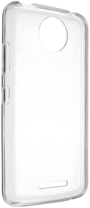 FIXED gelové TPU pouzdro pro Motorola Moto C Plus 4G, bezbarvé