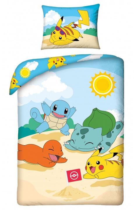 Povlečení Pokémon - Starters Beach