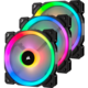 Corsair Air Series LL120 RGB, 120mm (3 ks)