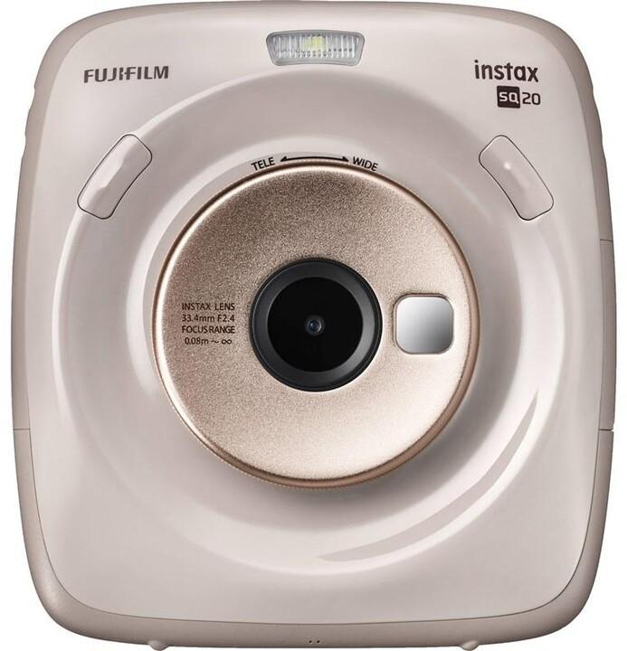 Fujifilm Instax Square SQ20, béžová