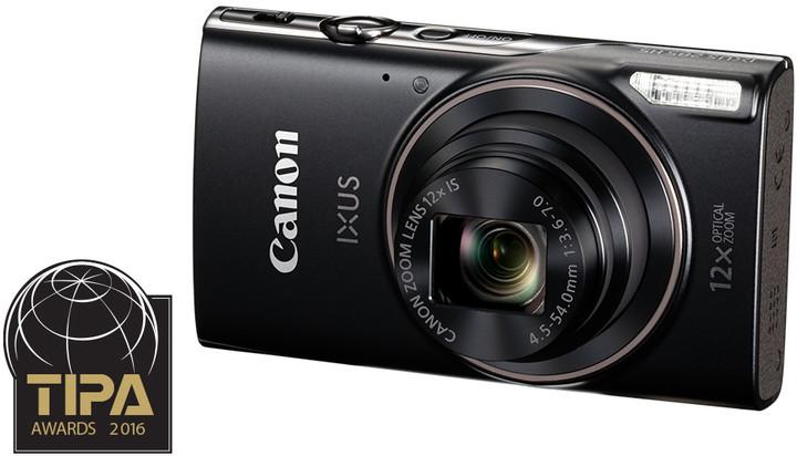 Canon IXUS 285 HS, černá