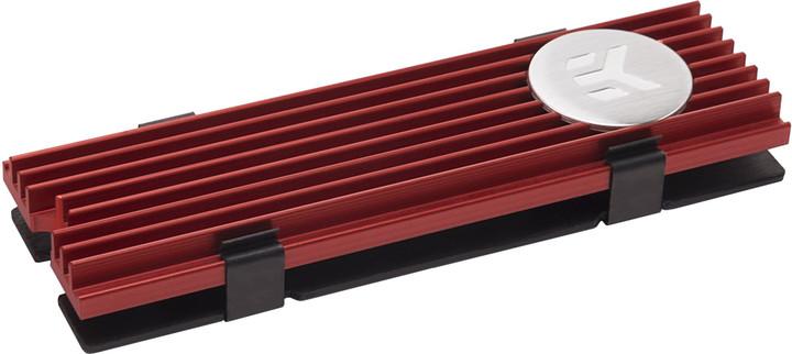 EK Water Blocks EK-M.2 NVMe Heatsink - red