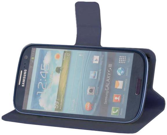 """Forever knížkové pouzdro (smartcase) typ c top univerzální 5,2 - 5,8"""" - námořní modř"""