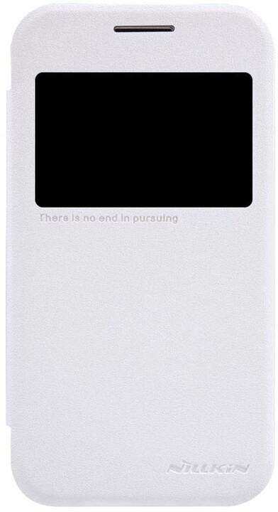 Nillkin Sparkle S-View pouzdro pro Samsung G360 Galaxy Core Prime, bílá