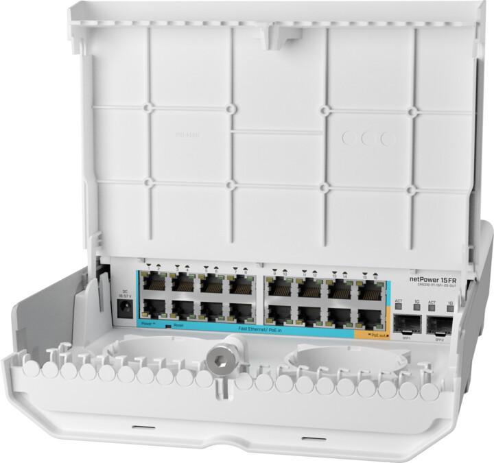 MikroTik Cloud Router CRS318-1Fi-15Fr-2S-OUT