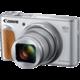 Canon PowerShot SX740 HS, stříbrná  + Získejte zpět 750 Kč po registraci