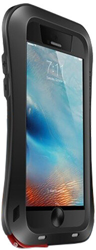 Love Mei Case iPhone 6 PLUS Three anti Straight version Black