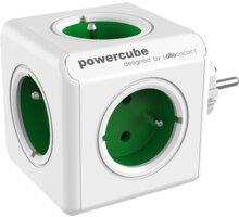 PowerCube ORIGINAL rozbočka-5ti zásuvka, zelená - 8718444081166