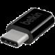 Belkin adaptér USB-C to microUSB, černý