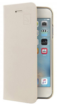 TUCANO Libro Eco Leather Booklet pouzdro pro IPhone 6/6S, ivory