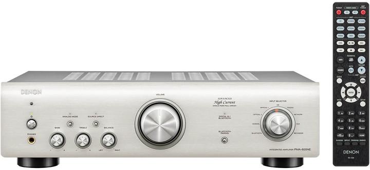 Denon PMA-600NE, stříbrná