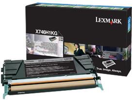 Lexmark X746H1KG, černá
