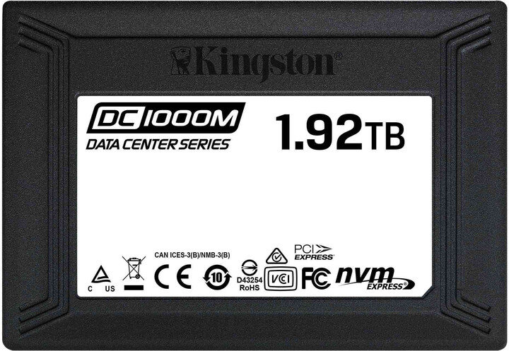 Kingston DC1000M, U.2 - 1,92TB