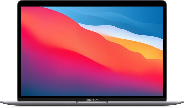Apple MacBook Air 13, M1, 16GB, 256GB, 7-core GPU, vesmírně šedá (M1, 2020)