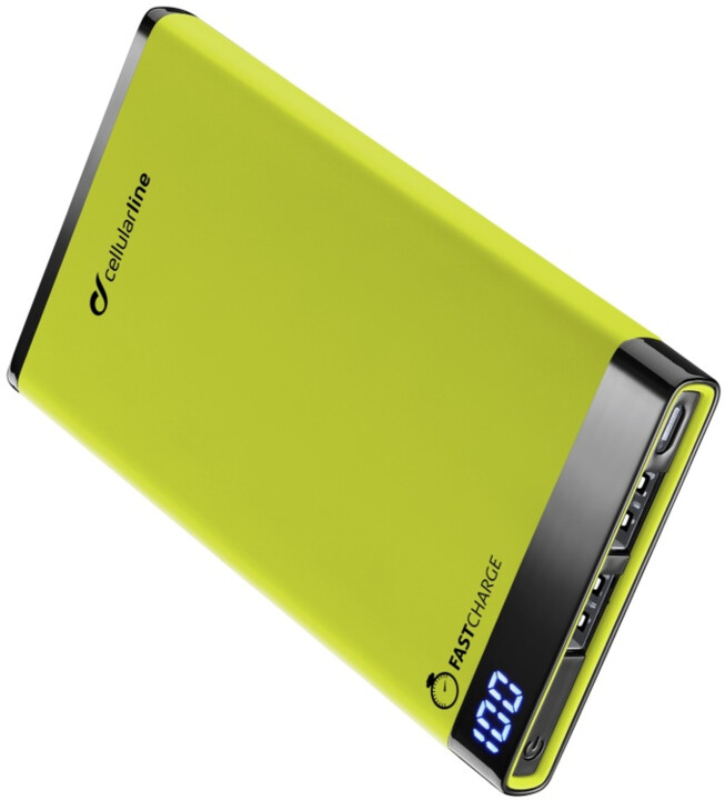 CellularLine FREEPOWER MANTA, 6000mAh, zelená
