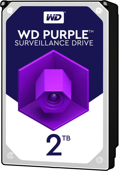 "WD Purple (PURZ), 3,5"" - 2TB"