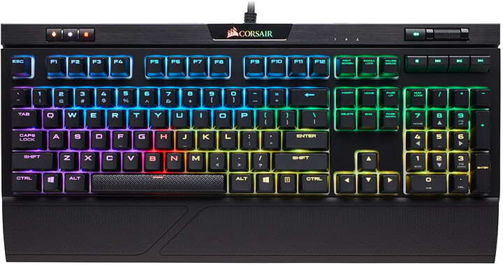 Corsair STRAFE RGB MK.2, Cherry MX Silent Red, US