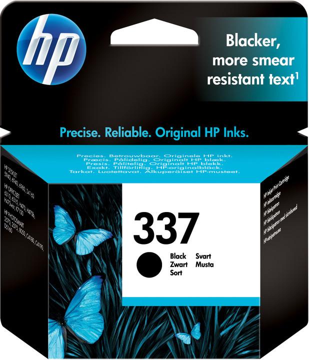 HP C9364EE, no.337, černá