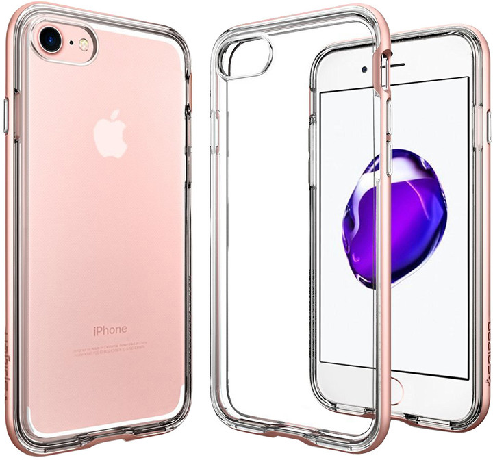Spigen Neo Hybrid Crystal pro iPhone 7/8, rose gold