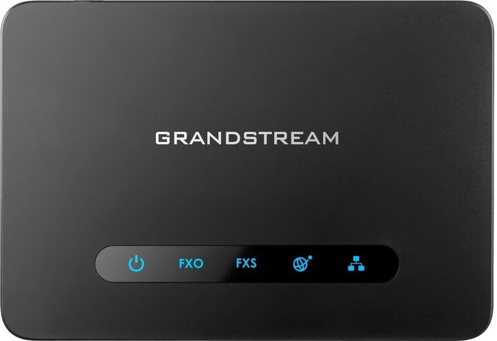 Grandstream HT813 - telefonní adaptér, 1x FXS, FXO, ATA, 1x10/100