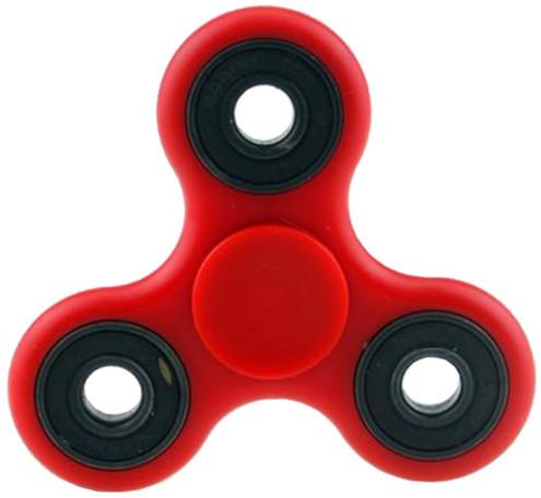 Fidget Spinner Glow, červený