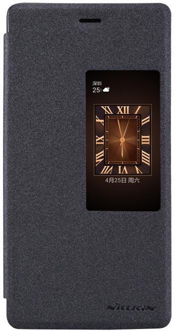Nillkin Sparkle S-View pouzdro pro Huawei Ascend P8, černá