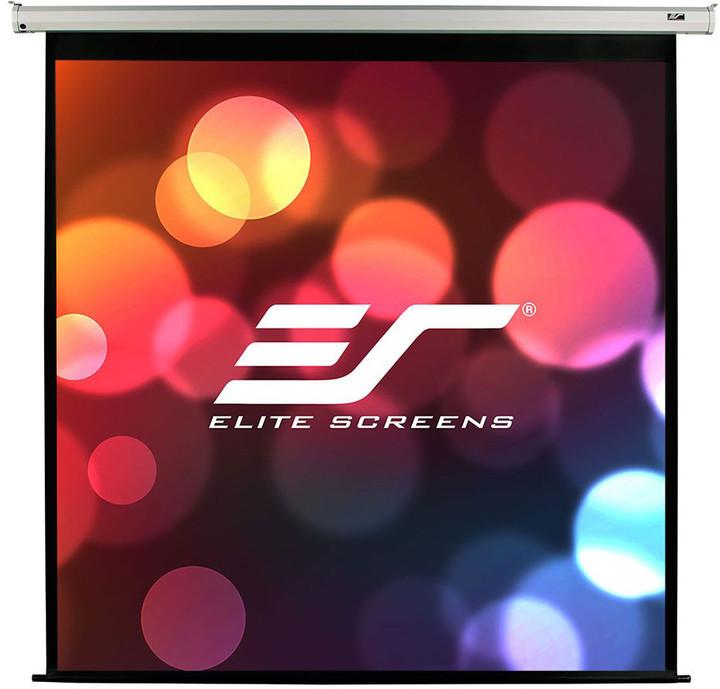 """Elite Screens plátno elektrické motorové 170"""" (431,8 cm)/ 1:1/ 304,8 x 304,8 cm/ case bílý"""