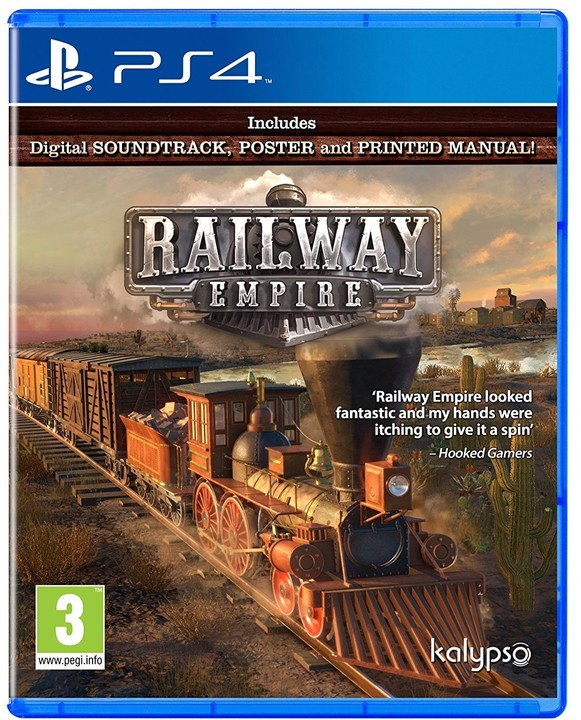 Railway Empire - Day One Edition (PS4)