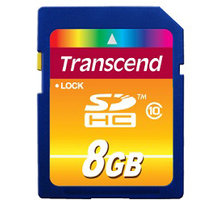 Transcend SDHC 8GB Class 10 - TS8GSDHC10