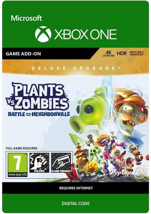 Plants vs. Zombies: Battle for Neighborville Deluxe Upgrade (Xbox ONE) - elektronicky