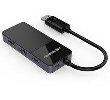 PremiumCord adaptér DP 1.4 - 3xHDMI 2.0 4K@60Hz, MST - kportad20