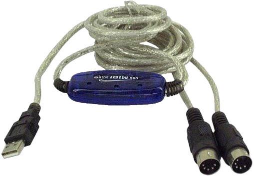 PremiumCord USB - MIDI převodník