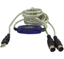 PremiumCord USB - MIDI převodník - kumidi