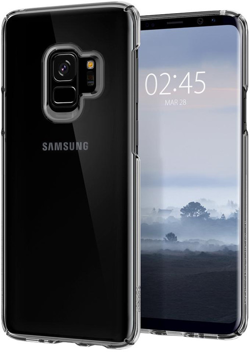 Spigen Thin Fit Crystal pro Samsung Galaxy S9, crystal clear