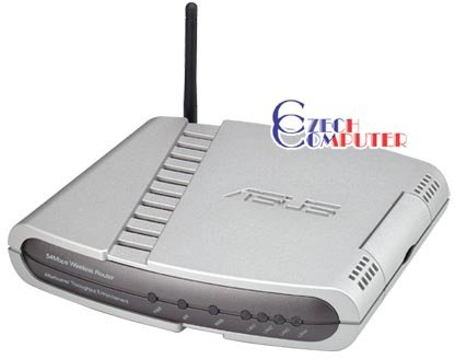 ASUS WL-500g Deluxe Acces point + Router + Switch