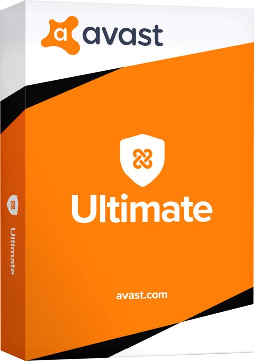 Avast Ultimate - 1 zařízení, 36 měsíců