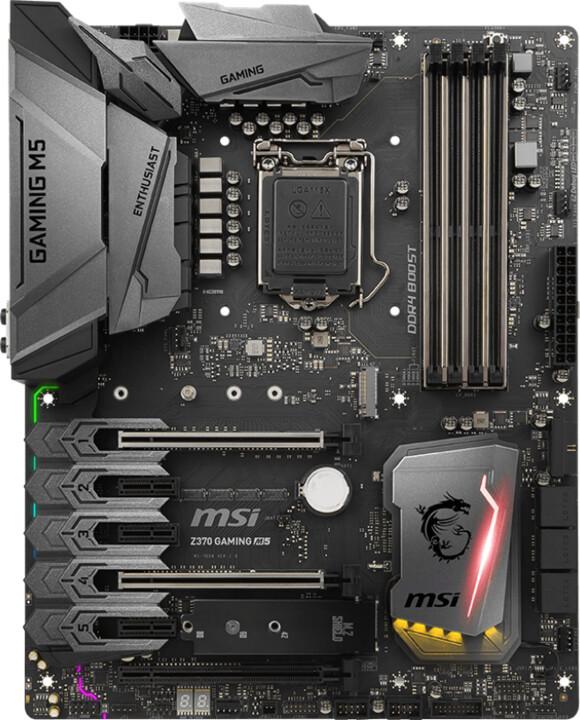 MSI Z370 GAMING M5 - Intel Z370