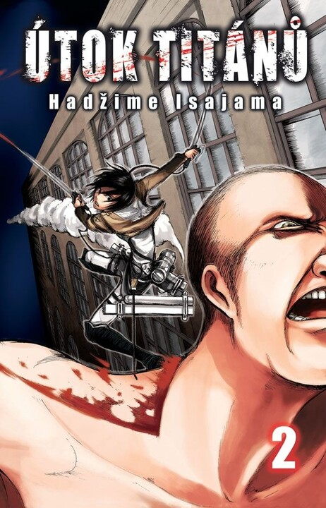 Komiks Útok titánů 02