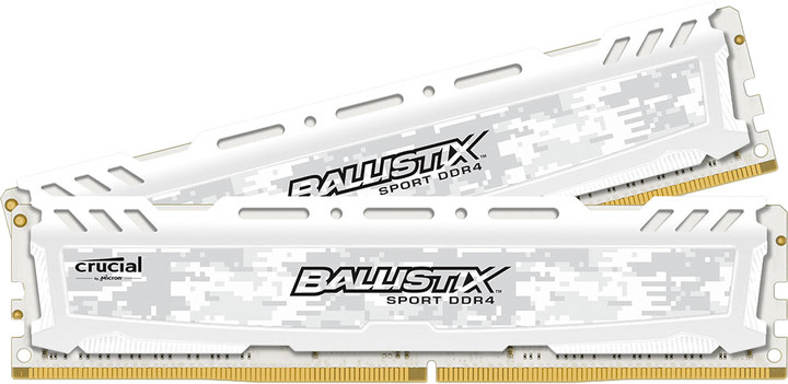 Crucial Ballistix Sport LT White 16GB (2x8GB) DDR4 2400
