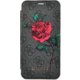 Guess 4G Flower Desire Book Pouzdro pro iPhone X, Grey